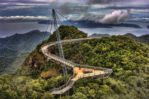 Le pont Langkawi Sky - Malaisie