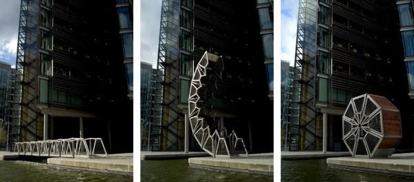 Le pont Rolling - Royaume-Uni