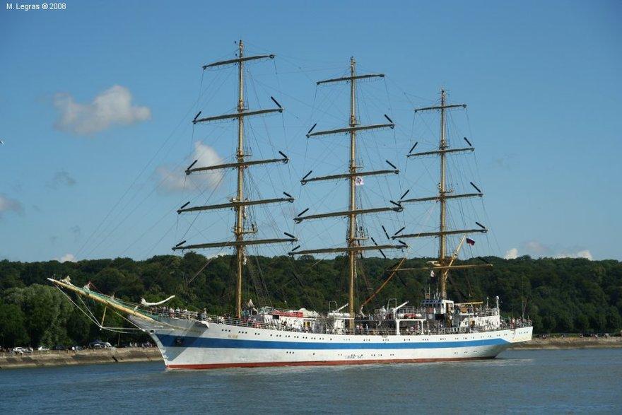 Le voilier Mir