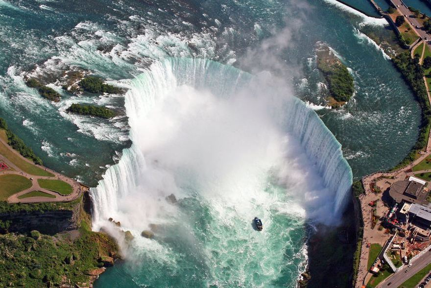 Les chutes du Niagara au Canada