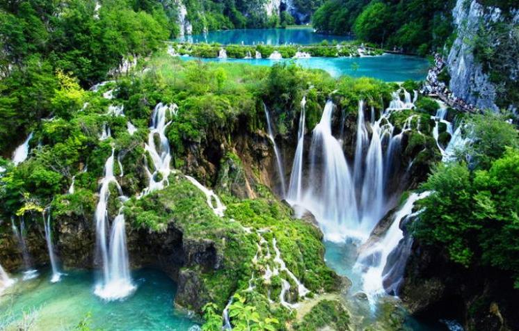 Les lacs Plitvice en Croatie