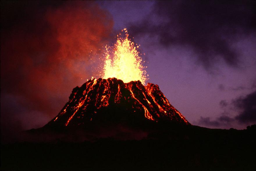 Les plus beaux volcans en éruption