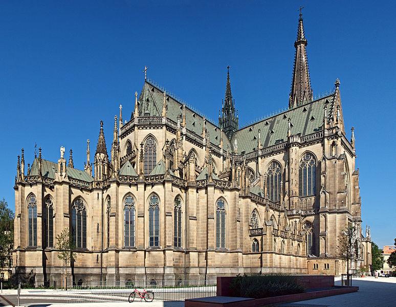 Linz Nouvelle Cathédrale en Autriche