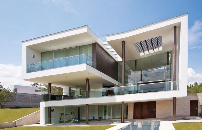 Maison design à Quito, Équateur