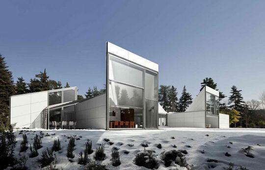 Maison origami en Espagne