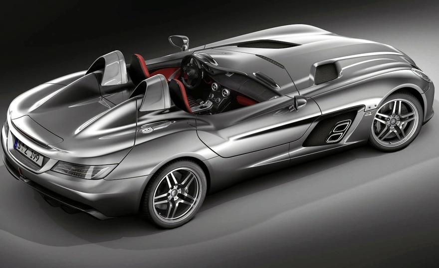 Mercedes-Benz-McLaren SLR Stirling Moss