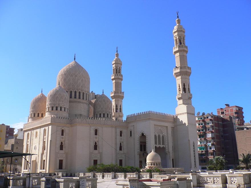 Mosquée Abu al-Abbas al-Mursi à Alexandrie en Egypte