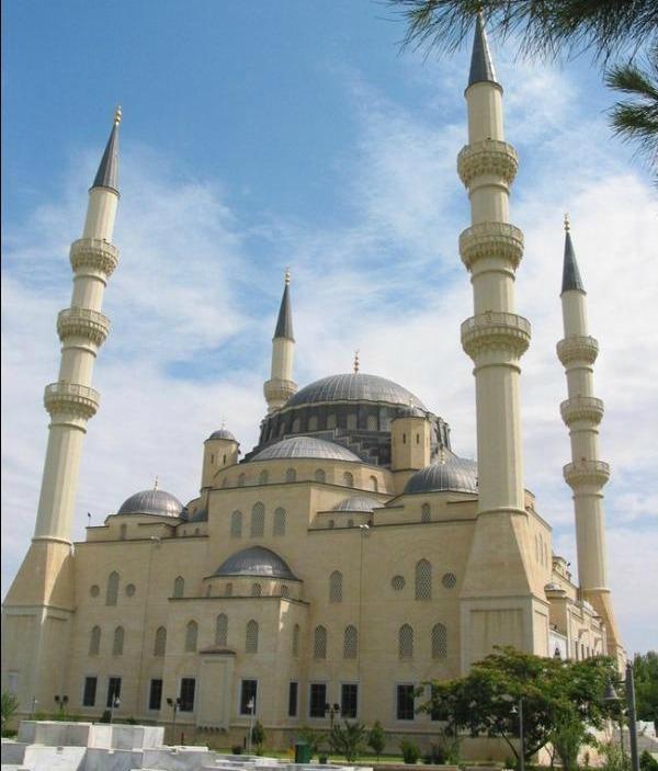 Mosquée Azadi au Turkmenistan