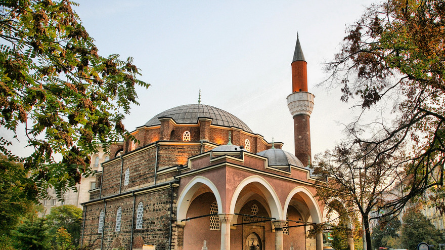 Mosquée Banya Bashi à Sofia en Bulgarie