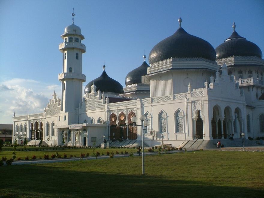 Mosquée de Banda Aceh en Indonesie