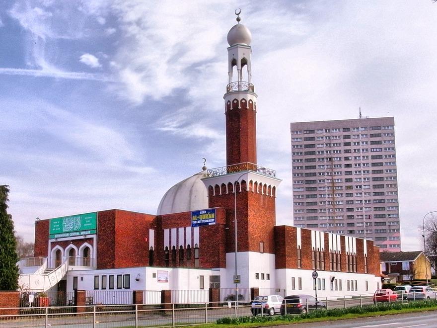Mosquée de Birmingham en Angleterre