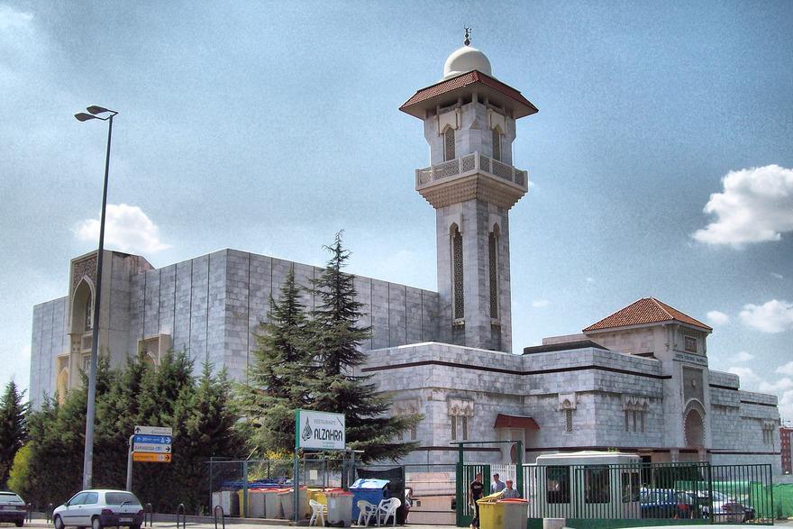Mosquée de Madrid en Espagne