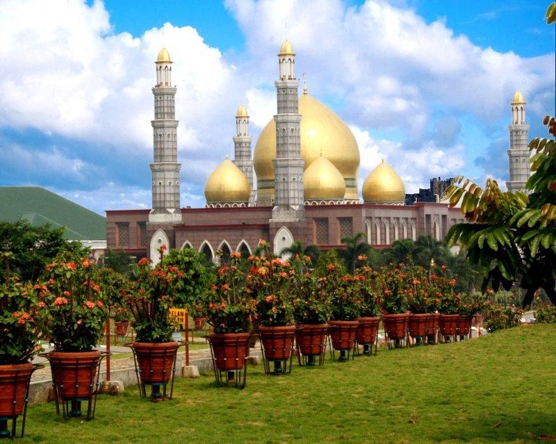 Mosquée de Masjid Dian Al-Mahri en Indonesie