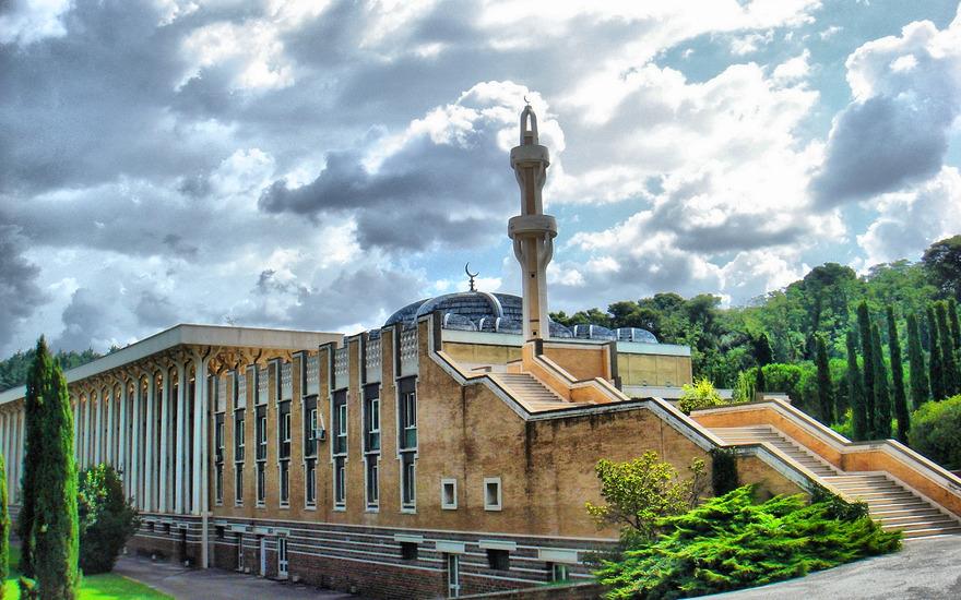 Mosquée de Rome en Italie