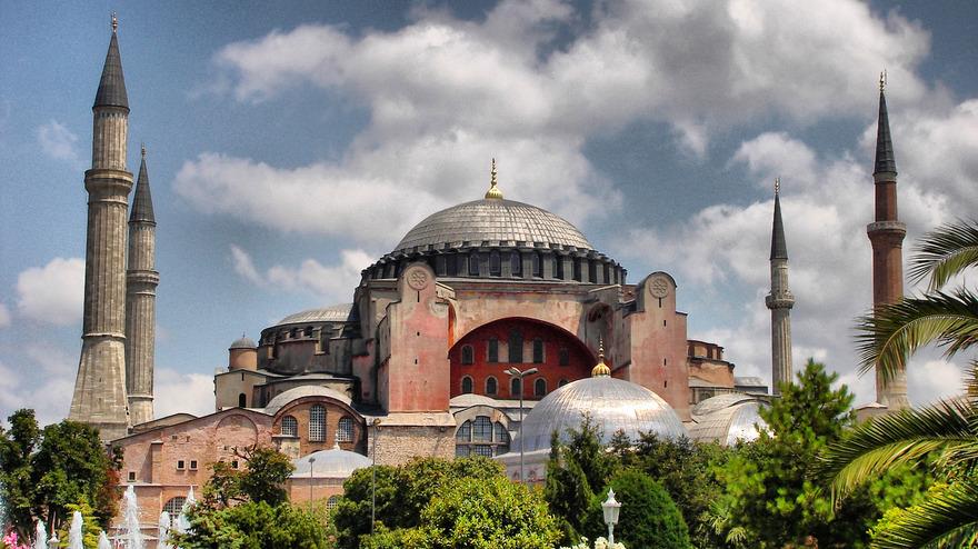 Mosquée de sainte sophie à Istanbul