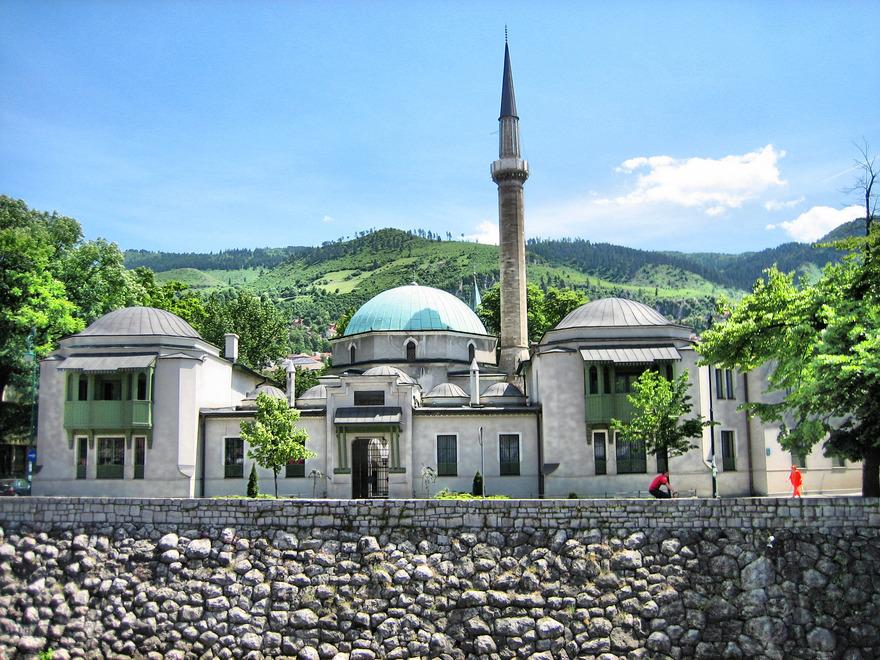 Mosquée Emperor à Sarajevo en Bosnie-Herzégovine