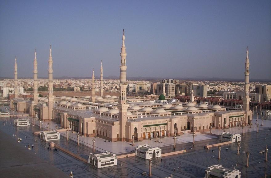 Mosquée Masjid Nabawi en Arabie Saoudite