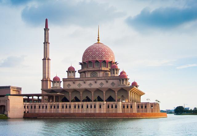 Mosquée Putrajaya en Malaisie