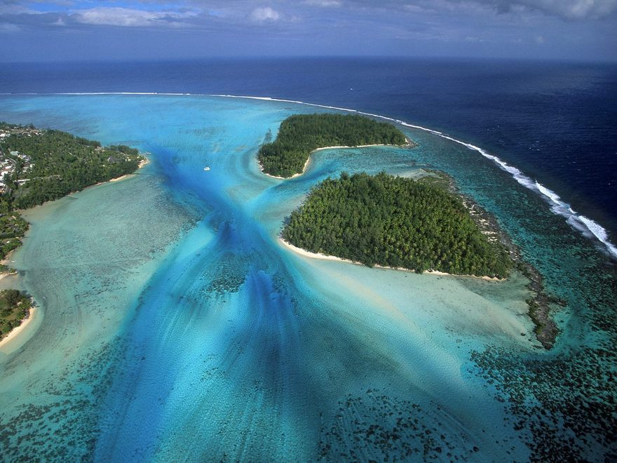 Iles de Moorea en Polynésie française