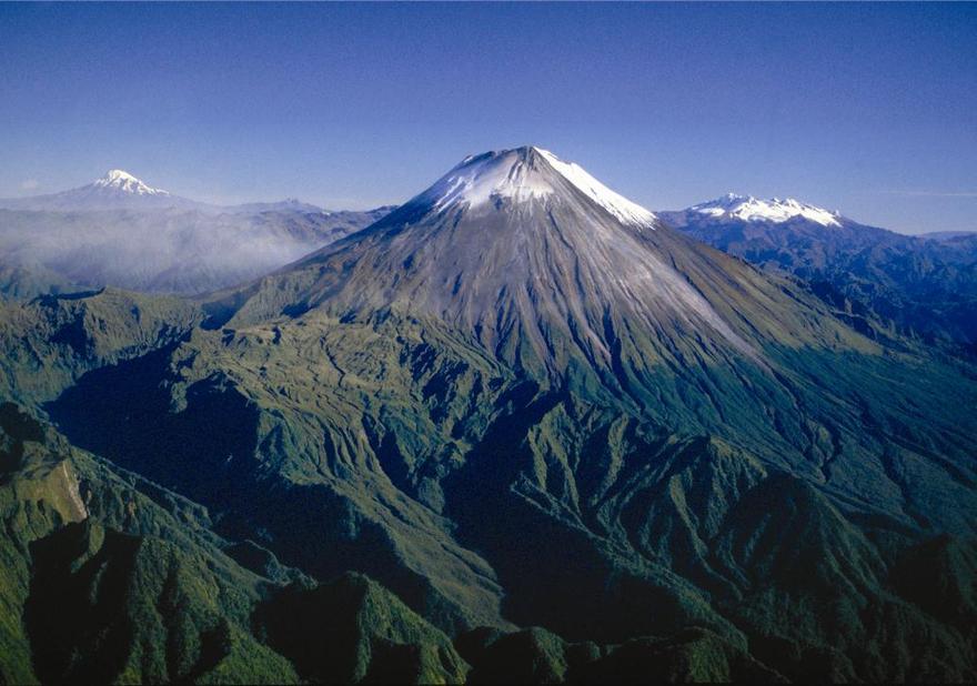 Le Chimborazo dans les Andes équatoriennes