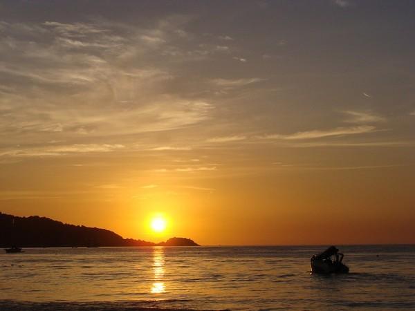 Coucher de soleil à Phuket en Thaïlande