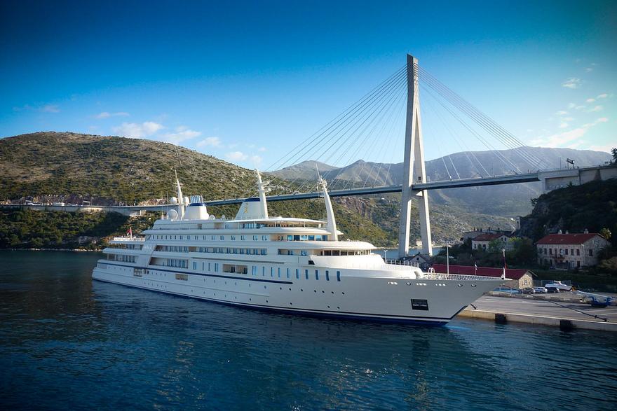Le yacht Al Saïd