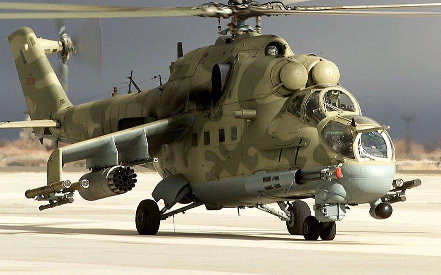 Hélicoptère Mil Mi-24 Hind