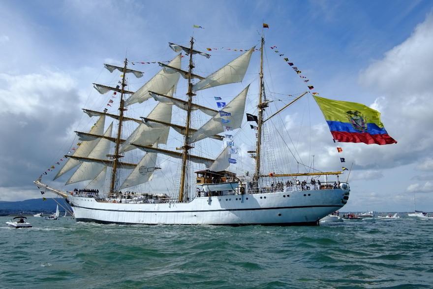 Le Guayas, grand voilier équatorien