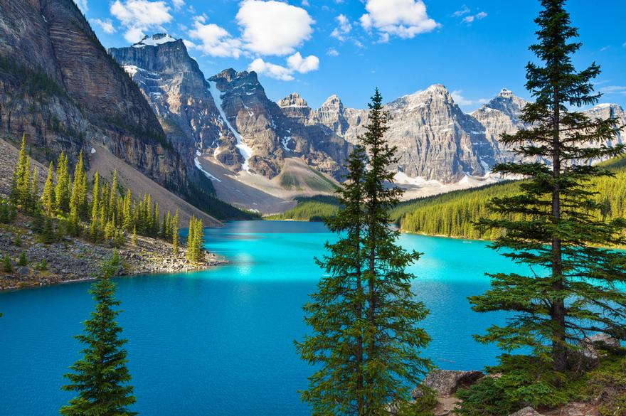 Lac Moraine – Alberta – Canada