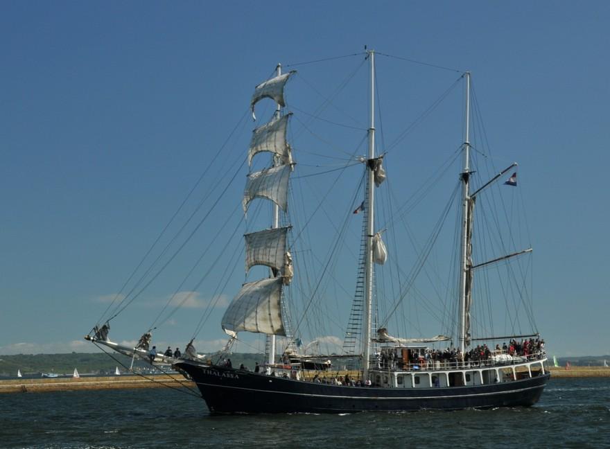 Le voilier 3 mats goélette Thalassa