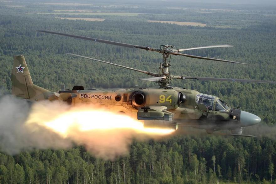 Hélicoptère d'attaque KA52