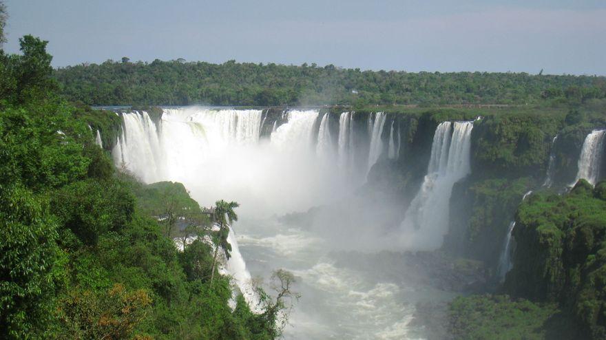 Chutes d'Iguazú au Brésil