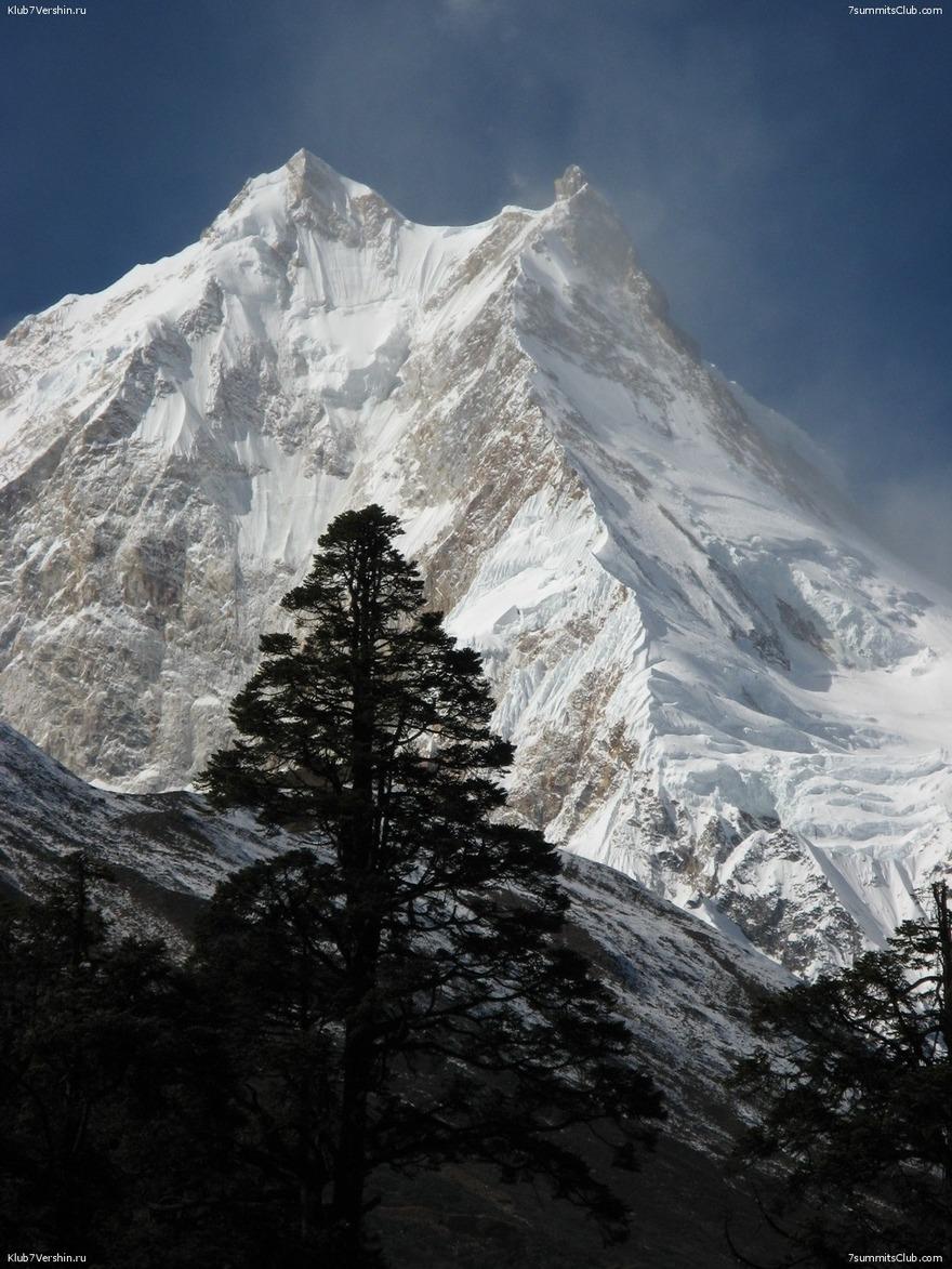 Le mont Manaslu - 8163 m - Népal