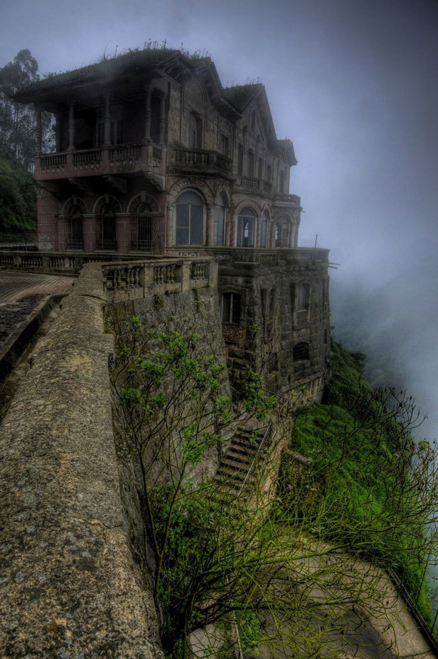 L'hôtel del Salto en Colombie