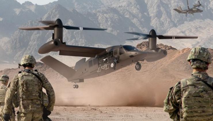 Le projet d'hélicoptère convertible V280 Valor de BELL