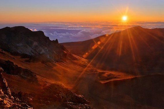 Haleakala, Hawaï