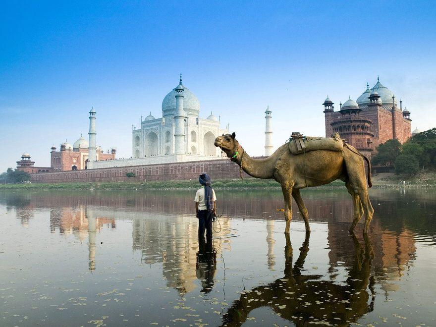 Agrâ en Inde