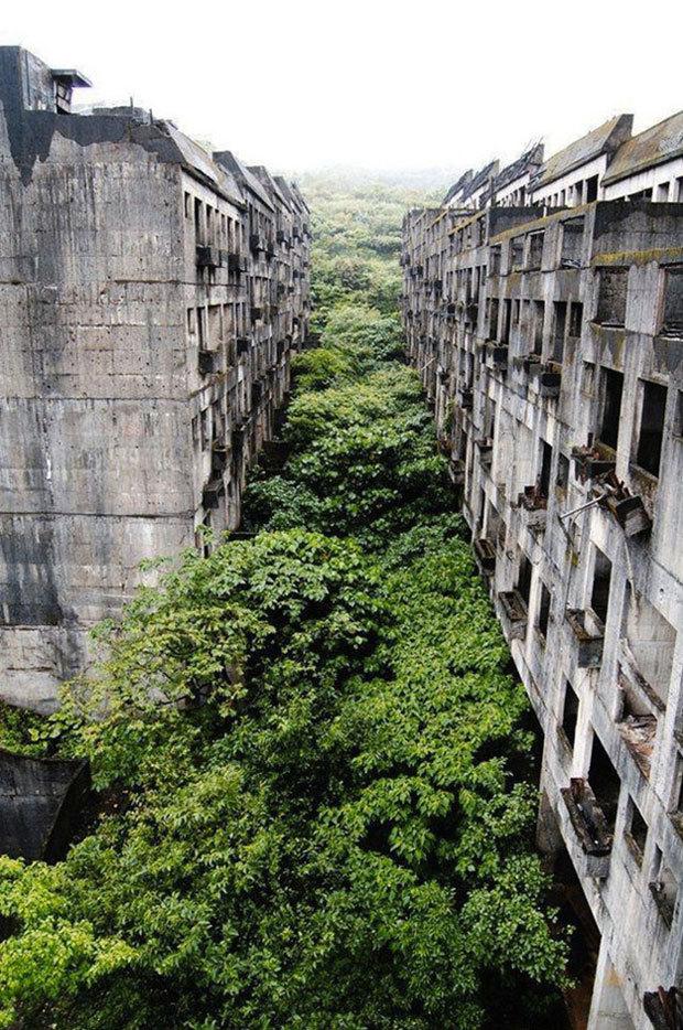 La ville abandonnée de Keelung à Taiwan