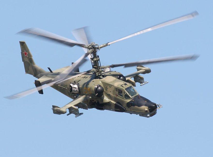 Hélicoptère Kamov Ka-50 Hokum, Russie