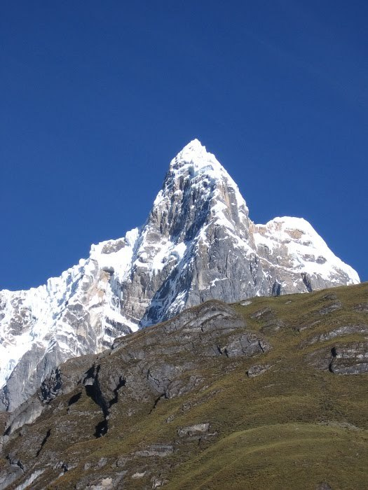 Le mont Jirishanca - 6094 m - Pérou