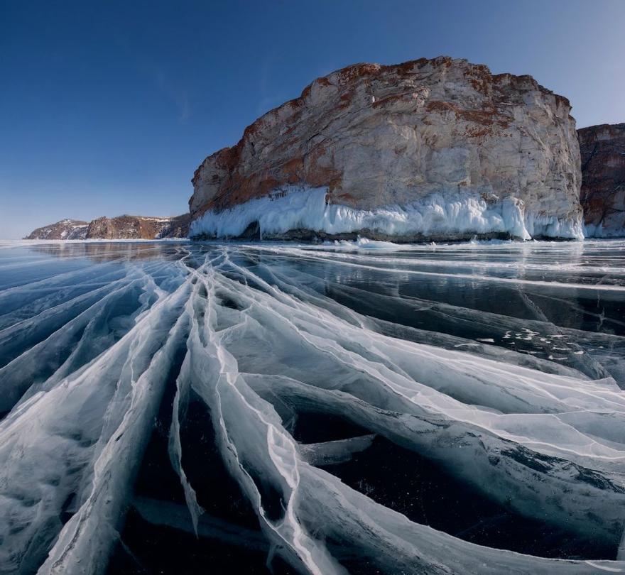 Le Lac Baïkal en Sibérie