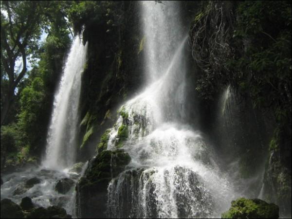 La cascade Saut d'Eau à Haïti