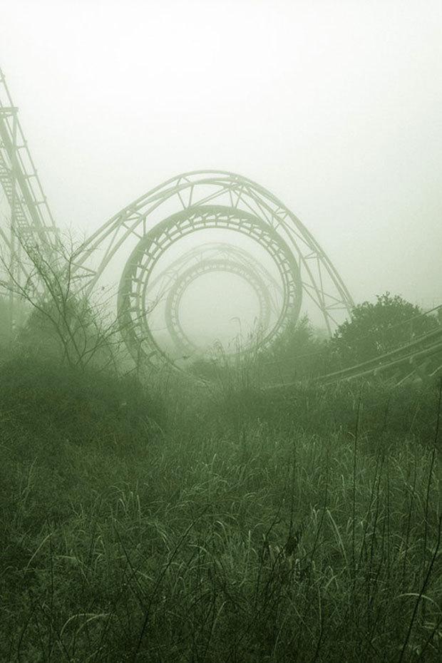 Le parc d'attraction Nara Dreamland au Japon