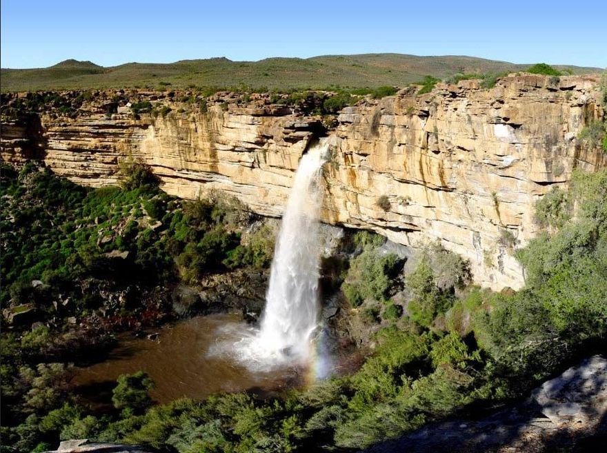Chutes sur la rivière Doorn en Afrique du Sud