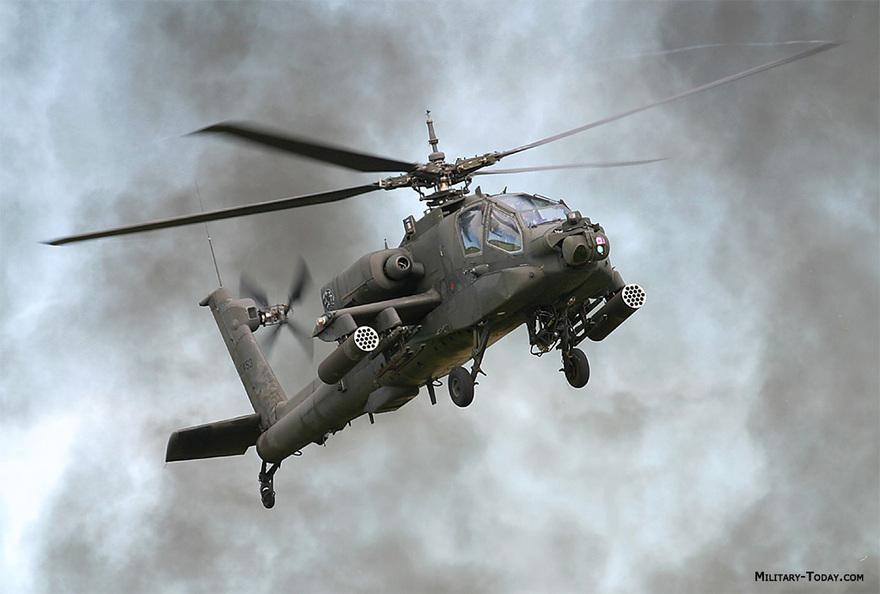 Hélicoptère Boeing AH-64A Apache