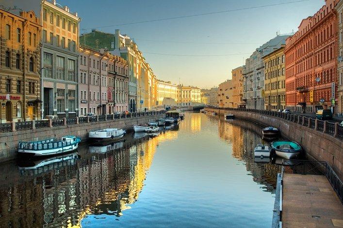 Saint-Pétersbourg en Russie
