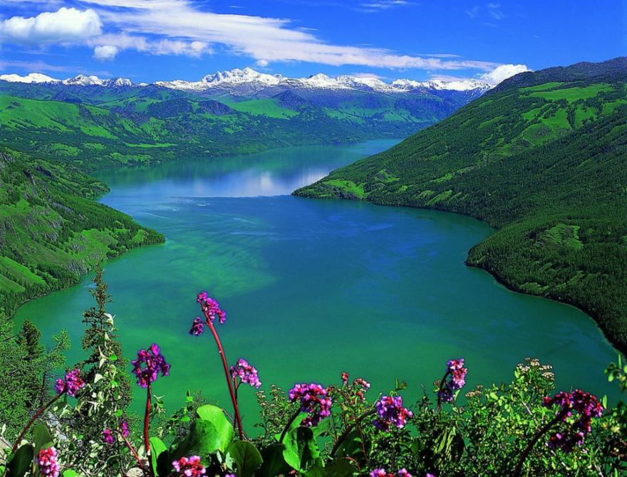 Le lac Kanas – Xinjing en Chine