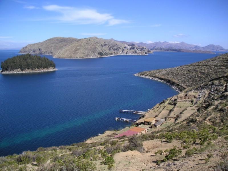 Le lac Titicaca entre Bolivie et Pérou