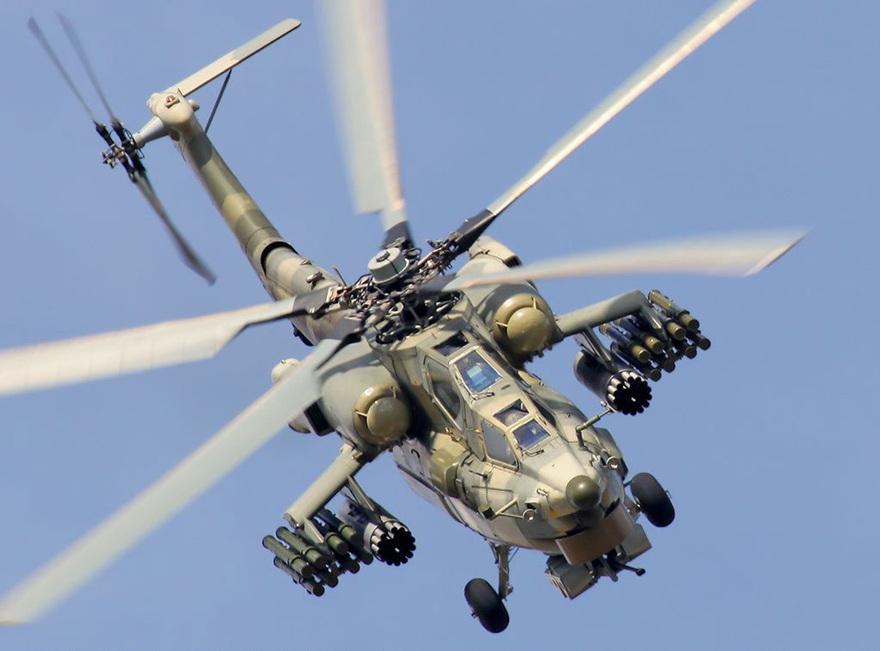 L'hélicoptère d'attaque MI28 Night Hunter