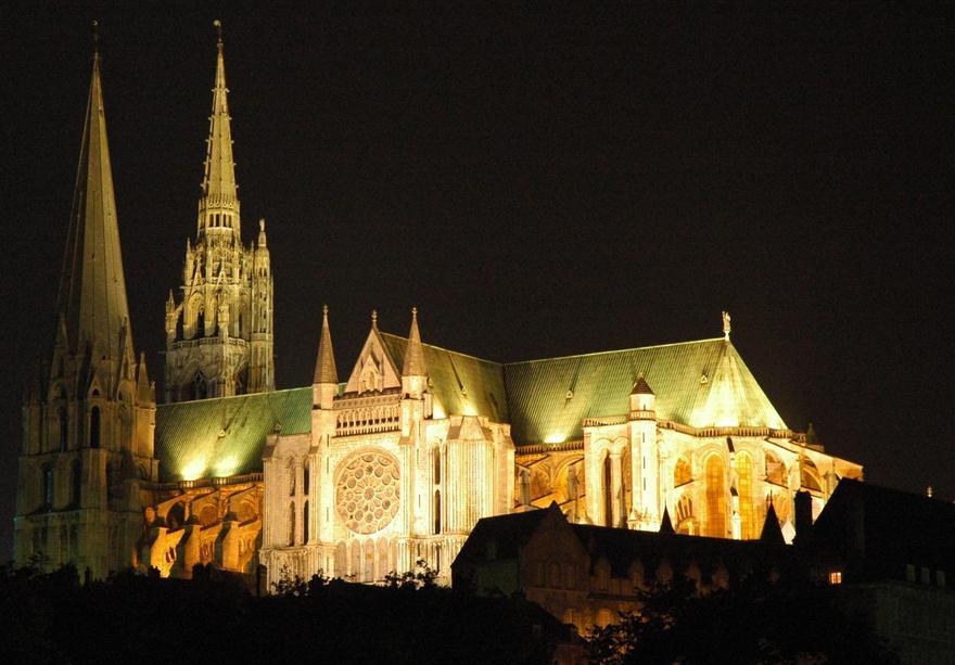 Notre-Dame de Chartres en France